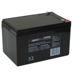 Akumulator żelowy AGM 12V12Ah montaż na wsuwki - Basic